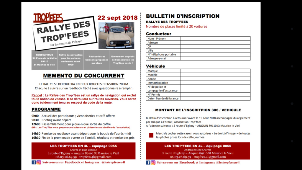 Rallye de Navigation 22 septembre Yonne Screen11
