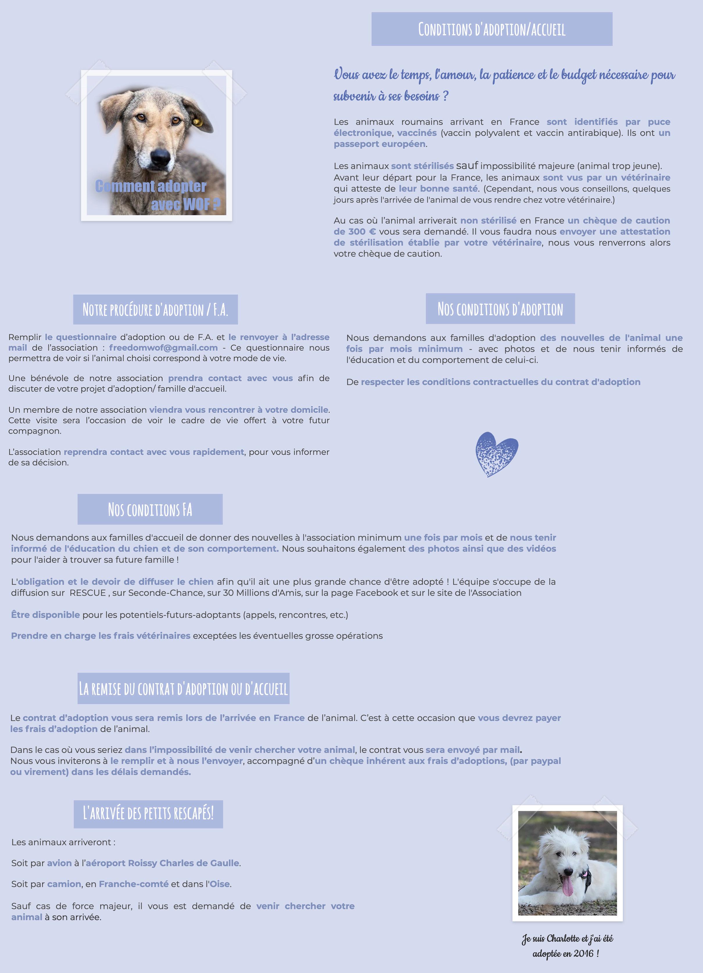 » Conditions d'adoption / FA et procédure  Condit12