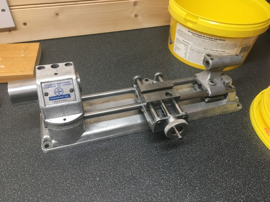 Unimat SL1000 1970 lathe restoration. 054b7010
