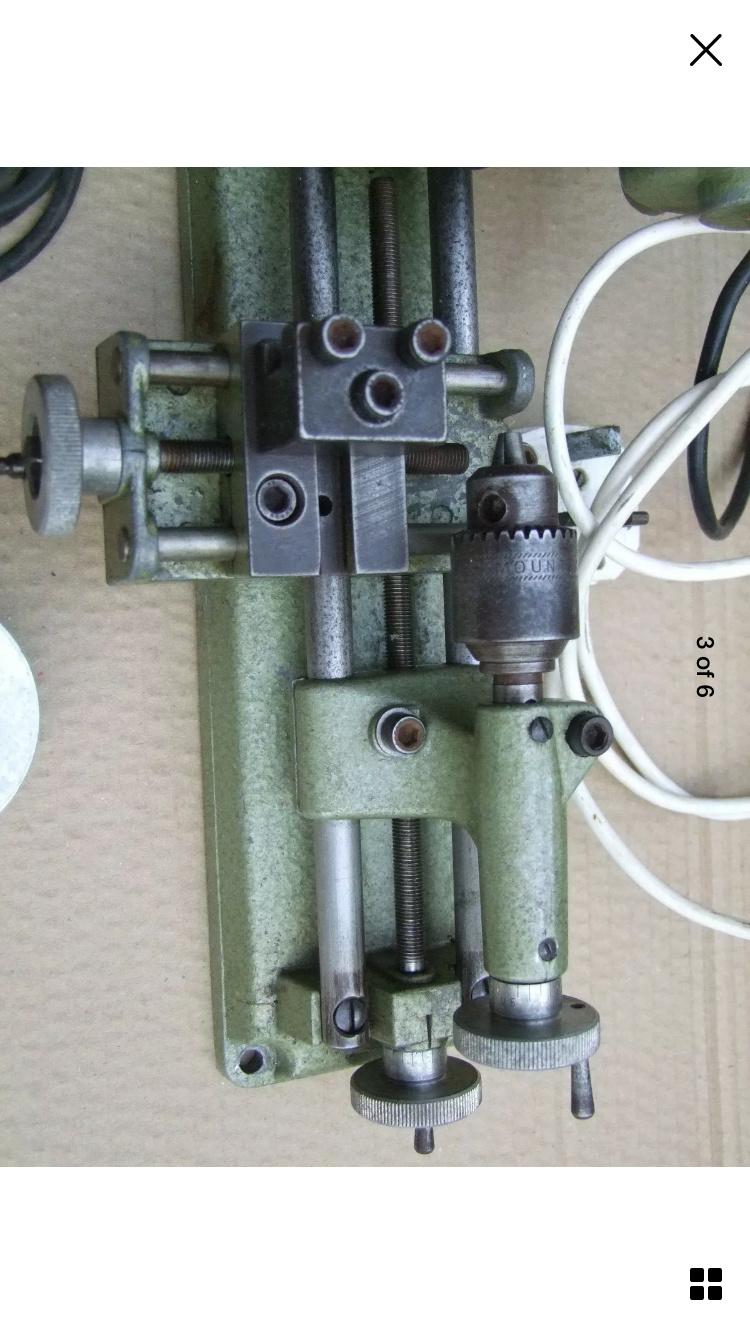 Unimat SL1000 1970 lathe restoration. 7bdabd10