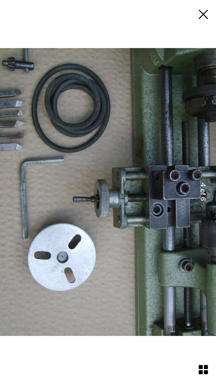 Unimat SL1000 1970 lathe restoration. 92d60210