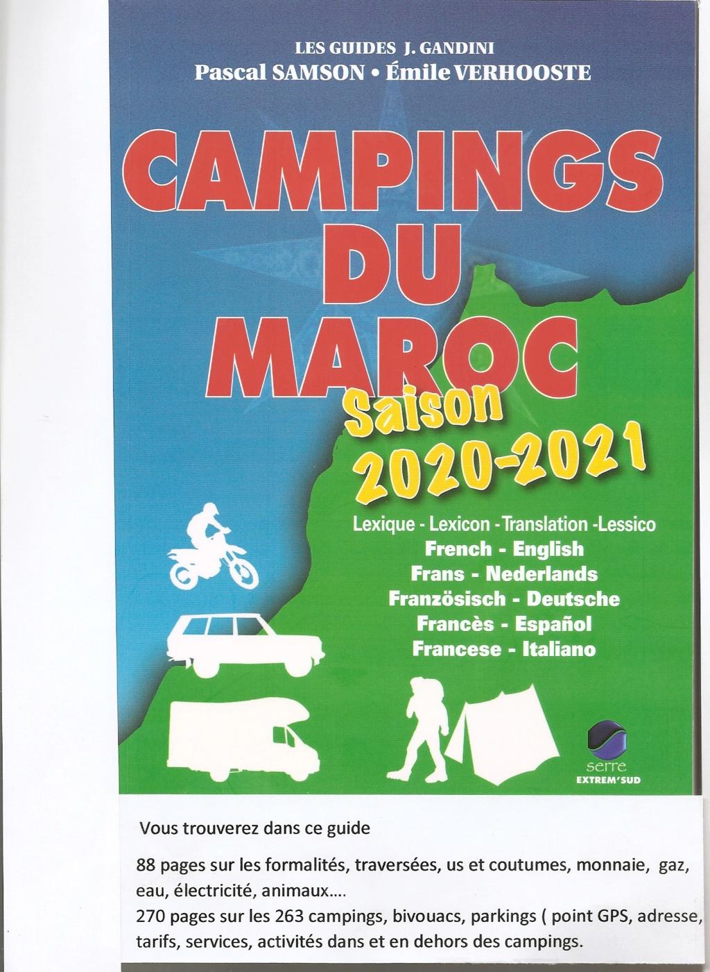 [Maroc Camp/Généralités] camping rabat  casablanca Couver37