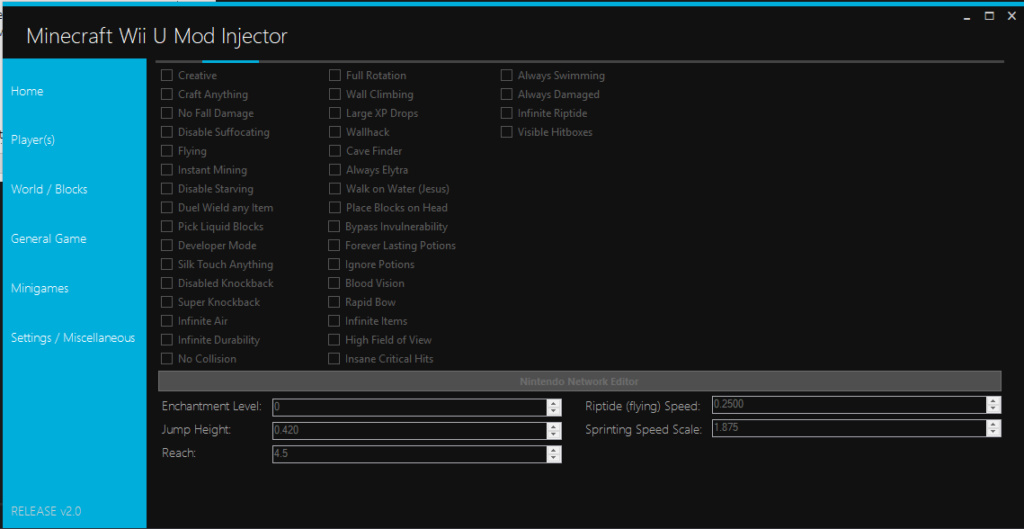 Minecraft Wii U Mod Injector Screen10