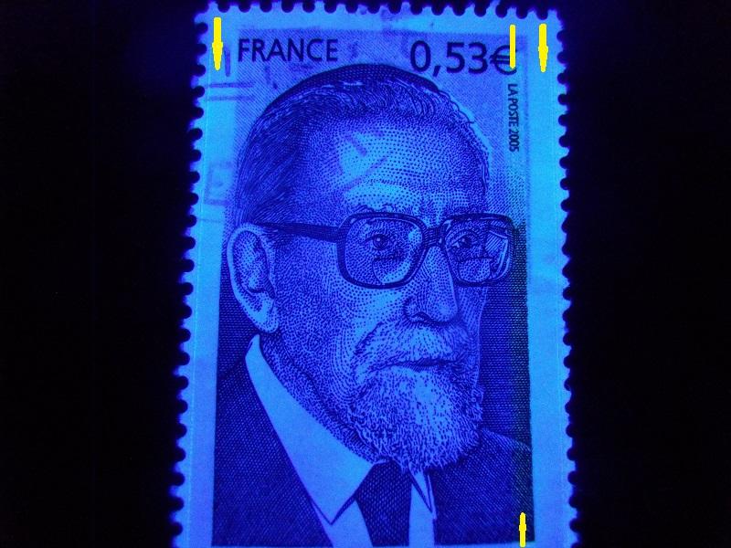 timbre J Kaplan avec plusieurs Barres Phospho Gedc1071