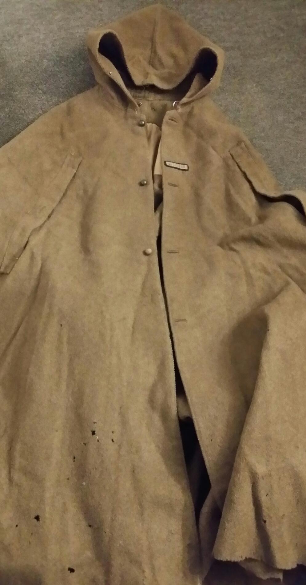 Manteau à capuchon modèle 35 2019-045