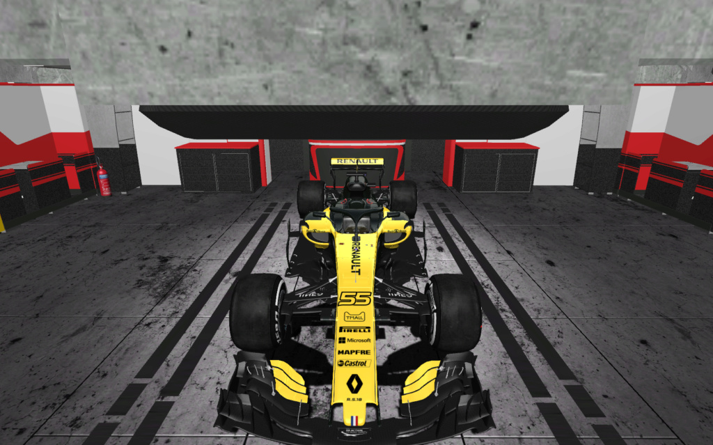 F1 2018 Codemasters Conversion Rfacto20