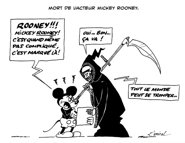 Association de dessins humoristiques Mickey10
