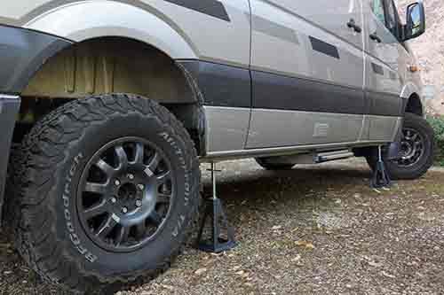 """Présentation de """"Jumbo"""" Independent Mercedes Sprinter 4x4 - Préparation et voyages Chande10"""