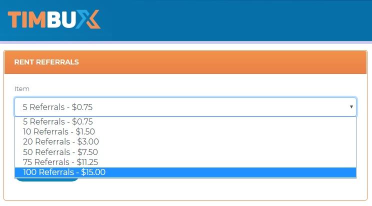 [PAGANDO] [COMPLETA] COMPARTIDA (II) - Compra REFERIDOS RENTADOS en Timbux Rr-pre12