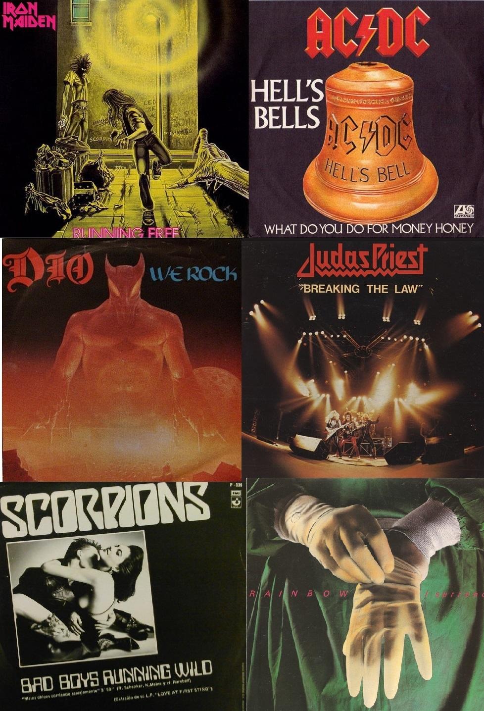 Los Hits del HEAVY METAL 80/85.  Free1011