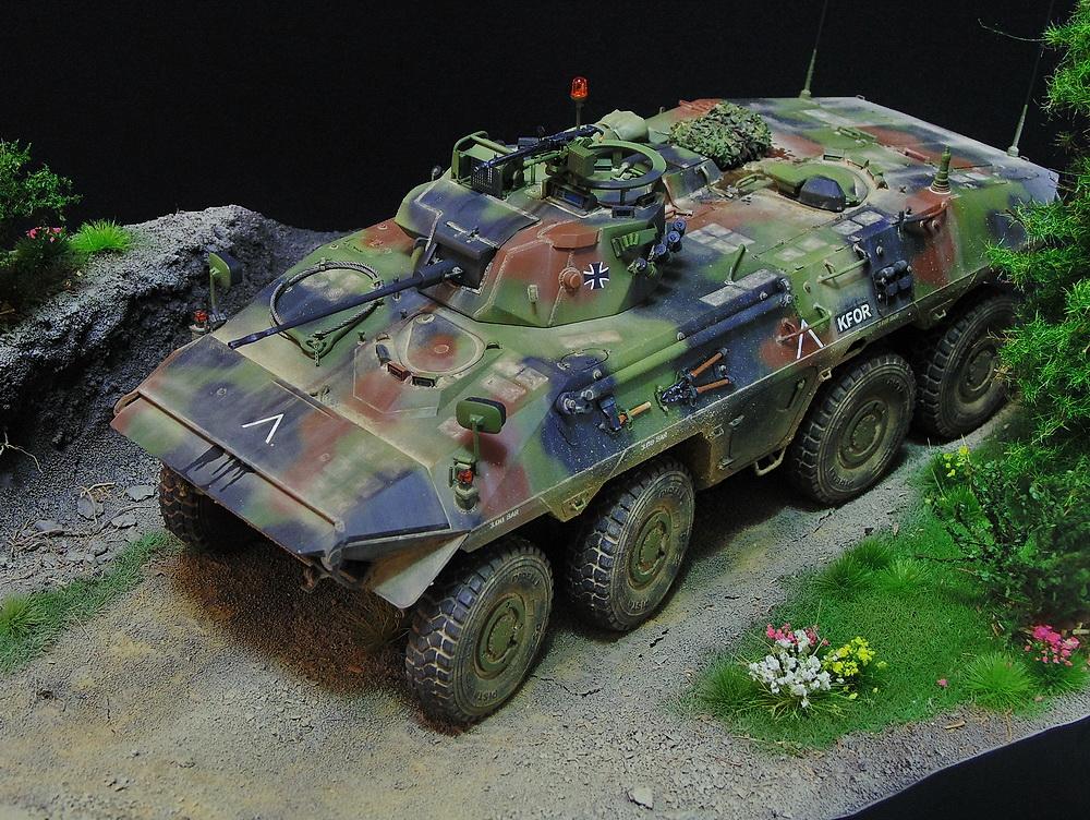 Бронеавтомобиль SpPz 2 Luchs 01010
