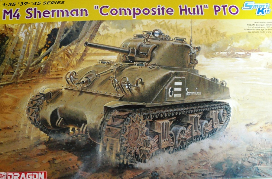 "M4 SHERMAN ""COMPOSITE HULL "" PTO 0110"