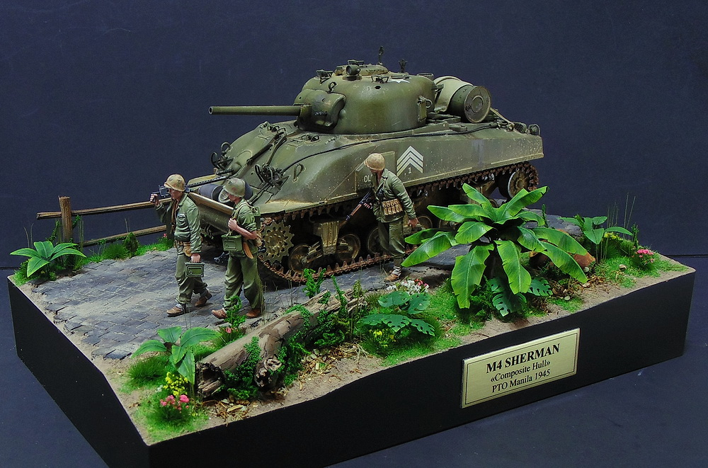 "M4 SHERMAN ""COMPOSITE HULL "" PTO 0115"