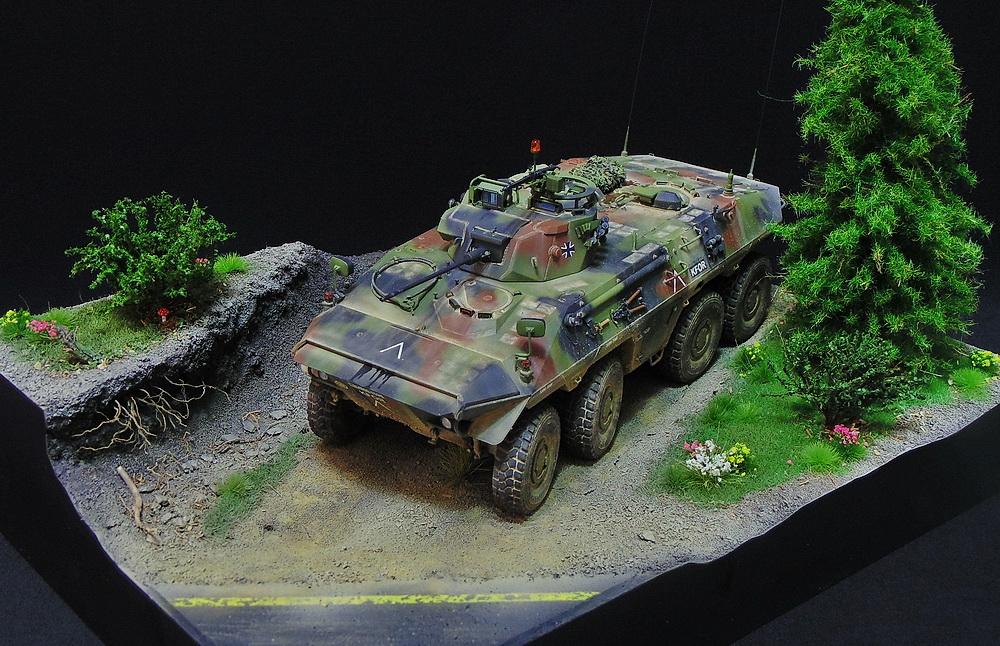 Бронеавтомобиль SpPz 2 Luchs 01412