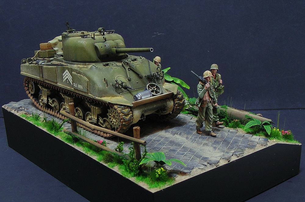 "M4 SHERMAN ""COMPOSITE HULL "" PTO 0214"