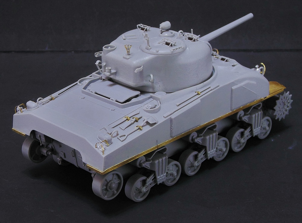 "M4 SHERMAN ""COMPOSITE HULL "" PTO 0410"