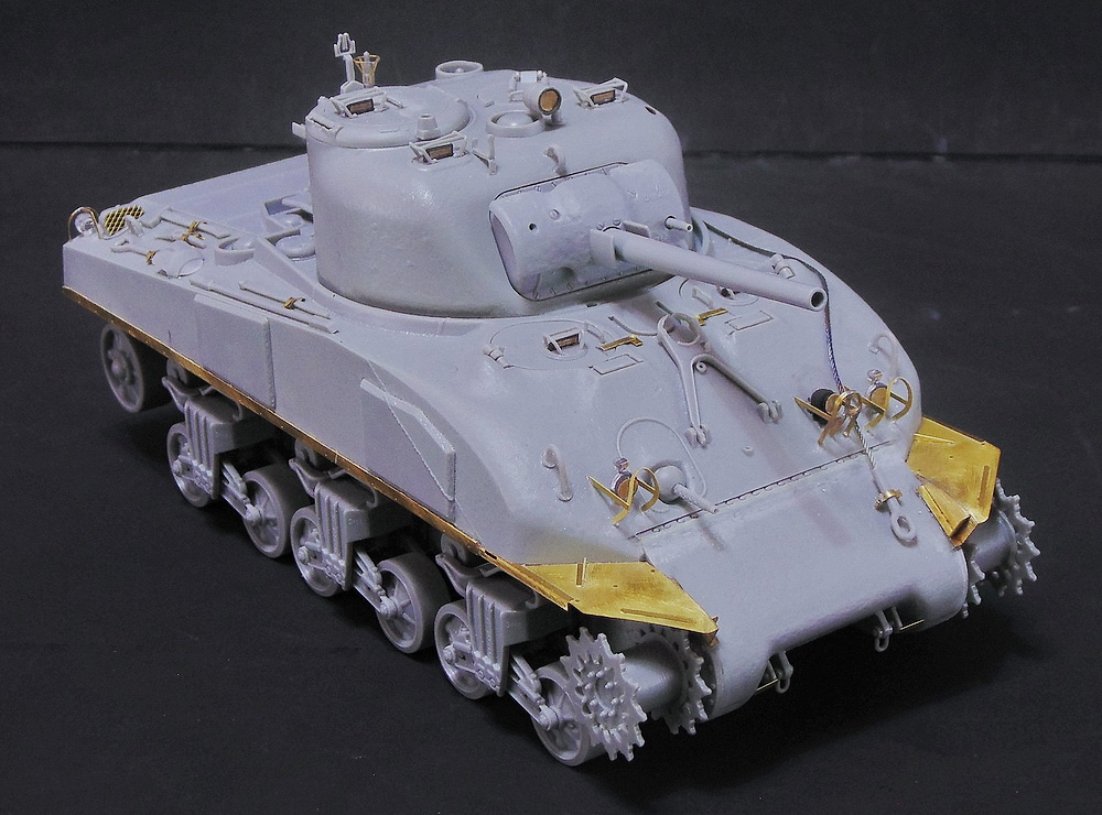 "M4 SHERMAN ""COMPOSITE HULL "" PTO 0510"