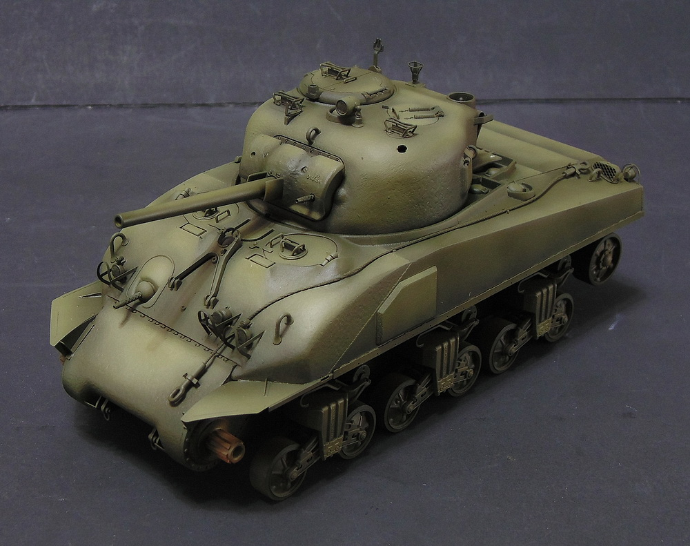 "M4 SHERMAN ""COMPOSITE HULL "" PTO 0610"