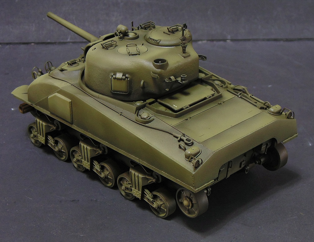 "M4 SHERMAN ""COMPOSITE HULL "" PTO 0710"