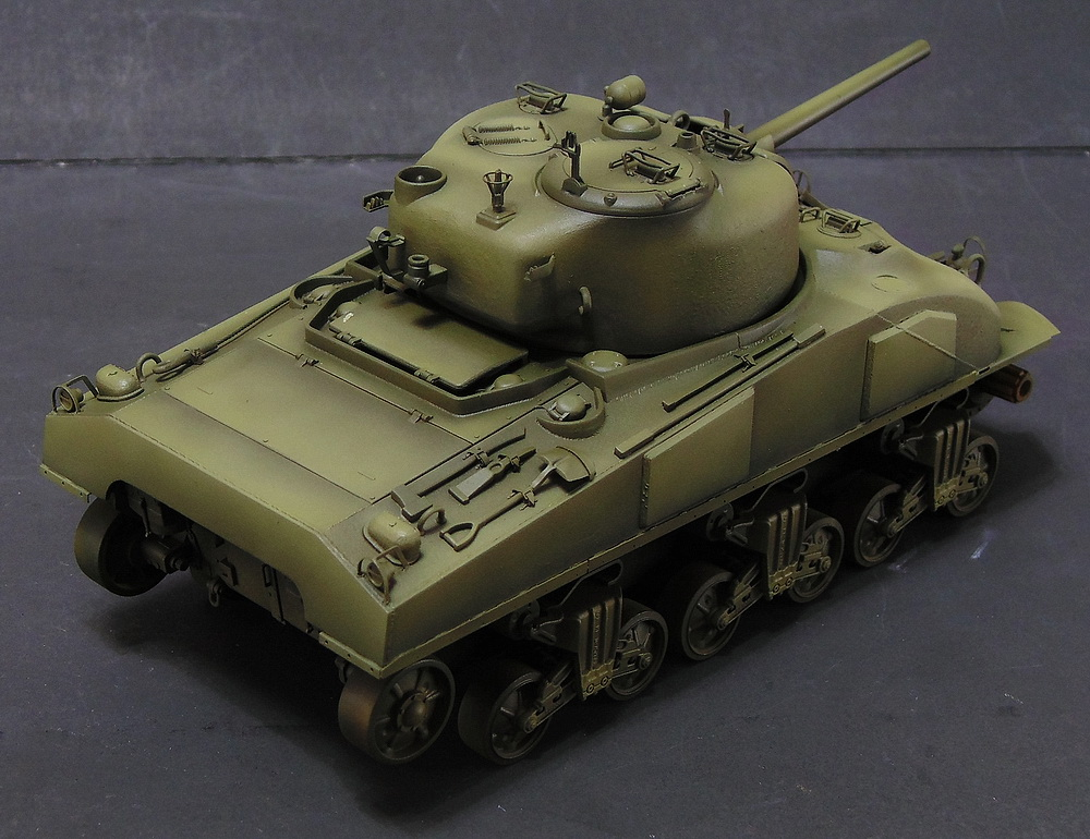 "M4 SHERMAN ""COMPOSITE HULL "" PTO 0810"