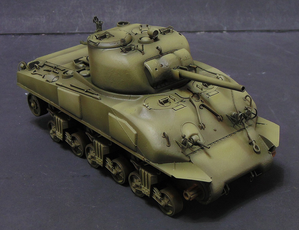 "M4 SHERMAN ""COMPOSITE HULL "" PTO 0910"