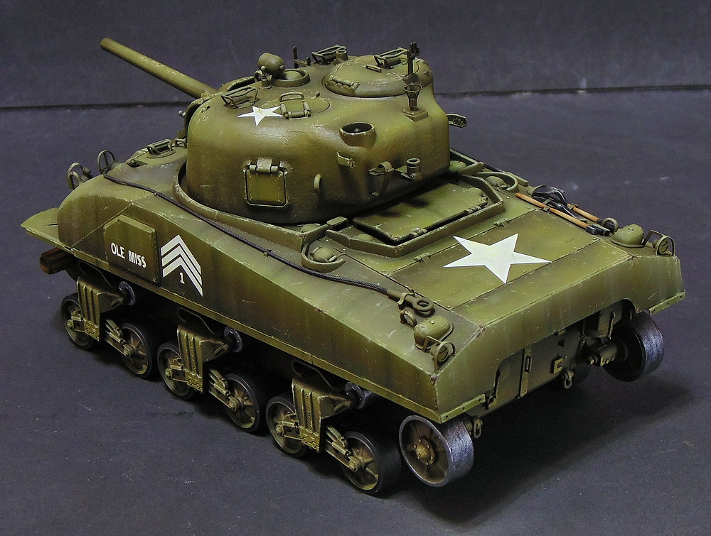 "M4 SHERMAN ""COMPOSITE HULL "" PTO 1210"