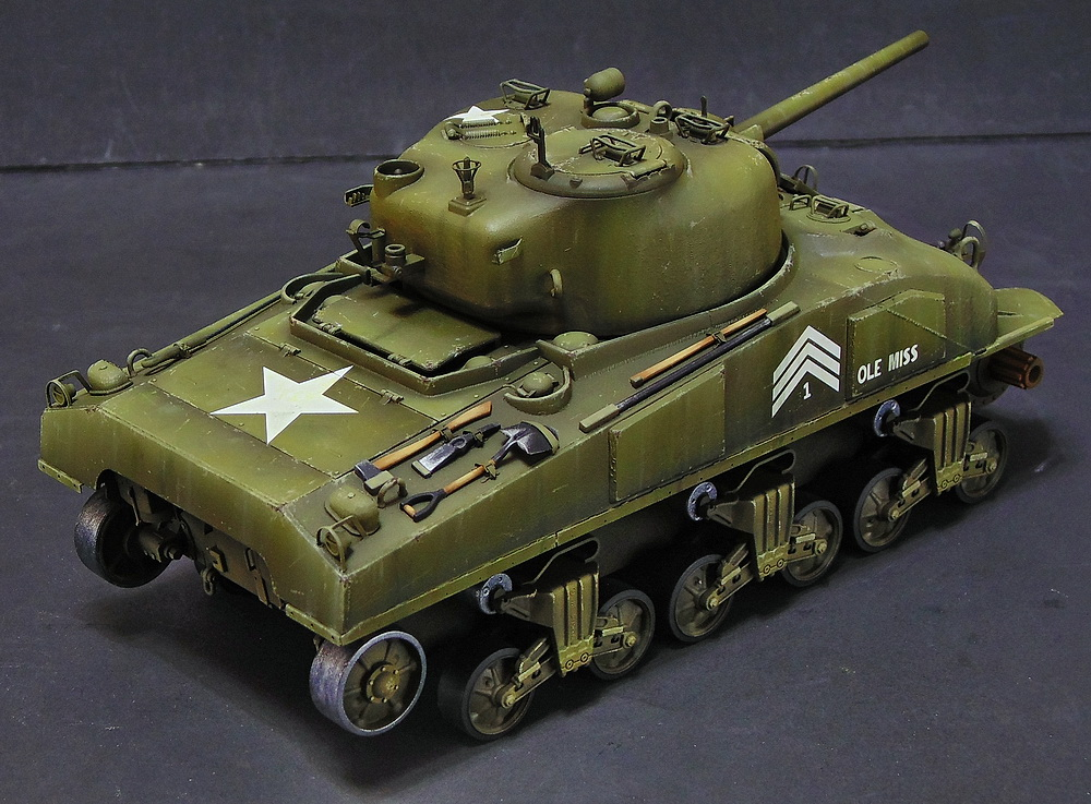 "M4 SHERMAN ""COMPOSITE HULL "" PTO 1310"