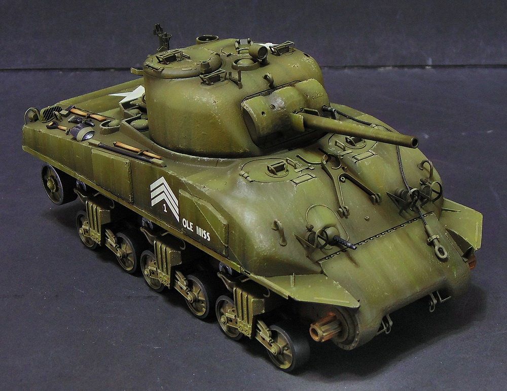 "M4 SHERMAN ""COMPOSITE HULL "" PTO 1410"