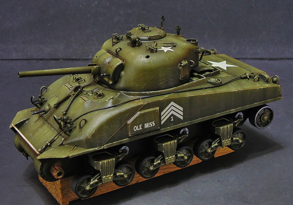 "M4 SHERMAN ""COMPOSITE HULL "" PTO 1610"