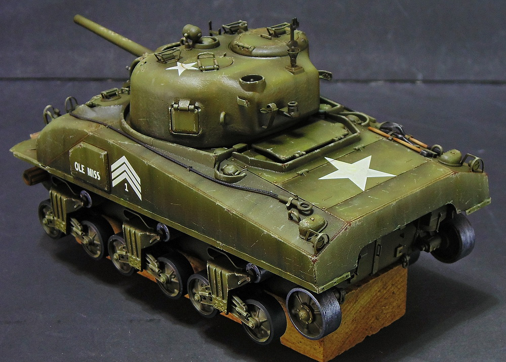 "M4 SHERMAN ""COMPOSITE HULL "" PTO 1710"