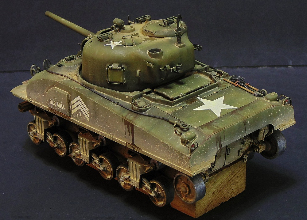 "M4 SHERMAN ""COMPOSITE HULL "" PTO 2210"