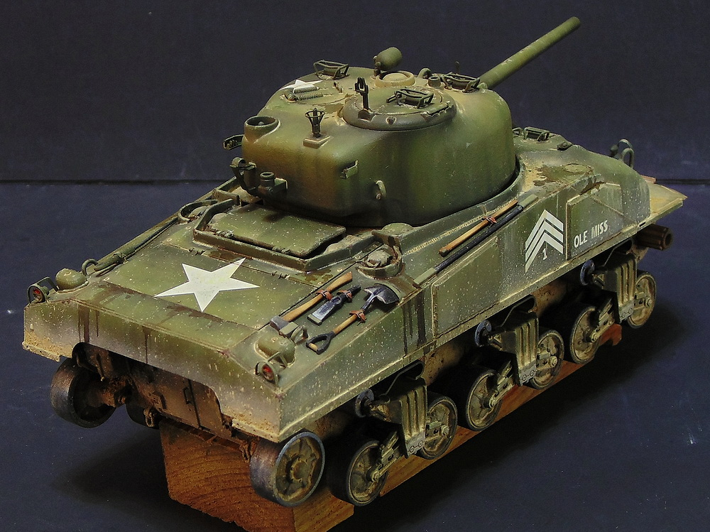 "M4 SHERMAN ""COMPOSITE HULL "" PTO 2310"
