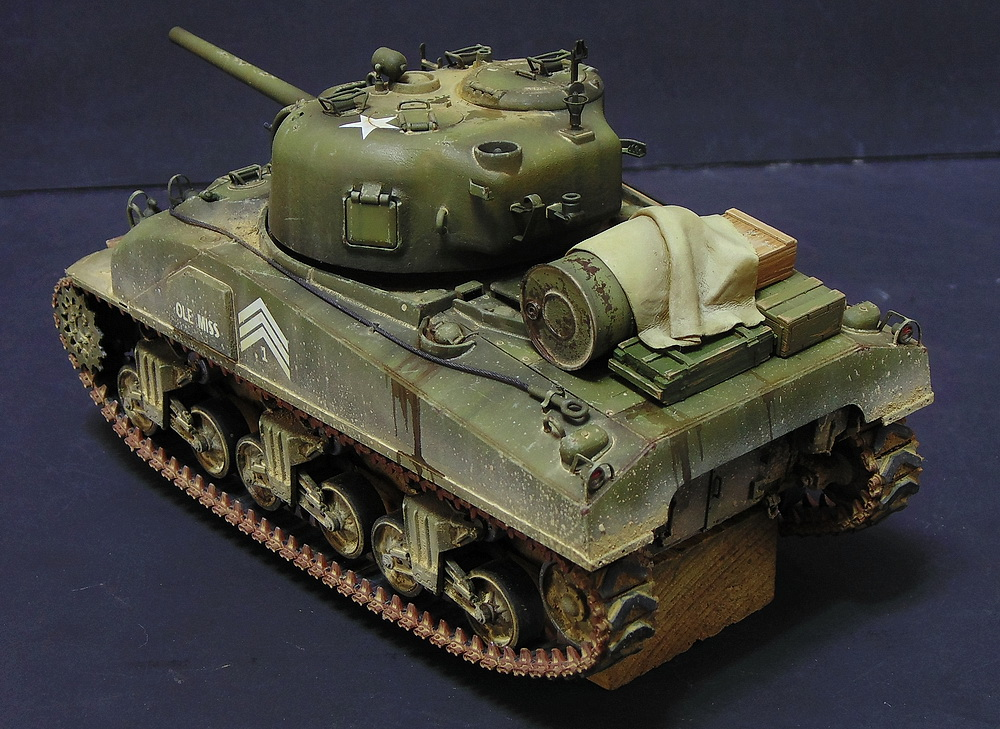 "M4 SHERMAN ""COMPOSITE HULL "" PTO 2710"