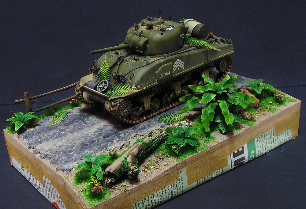 "M4 SHERMAN ""COMPOSITE HULL "" PTO 3310"