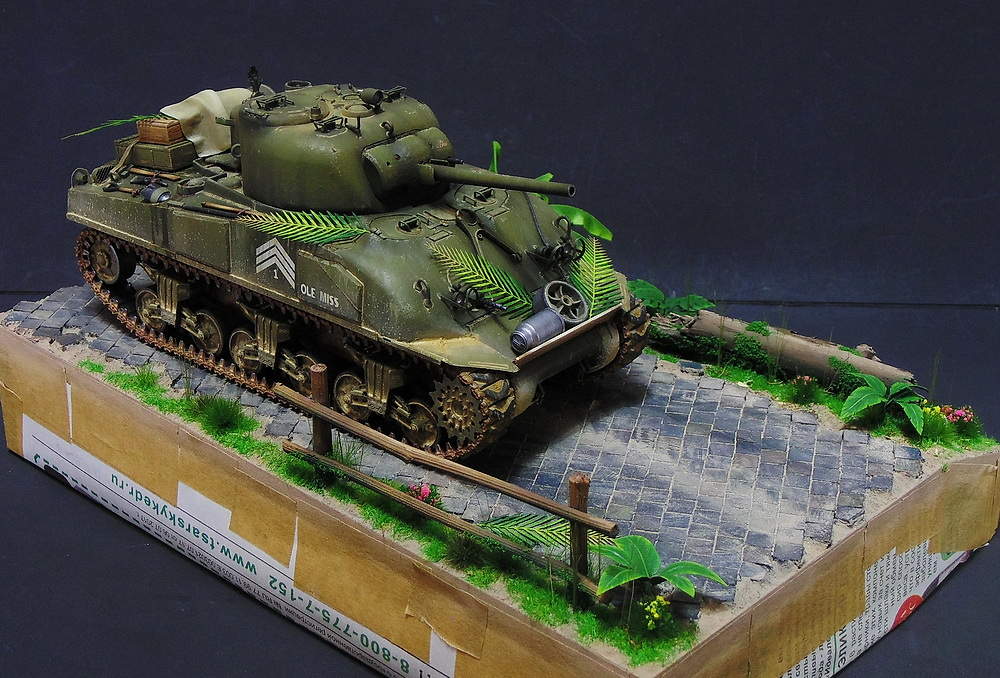 "M4 SHERMAN ""COMPOSITE HULL "" PTO 3410"