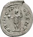Antoniniano de Filipo II. PRINCIPI IVVENT. Cesar a izq. Roma _3-2_110