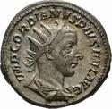 Antoniniano de Gordiano III - VIRTVTI AVGVSTI - Roma _3-4610