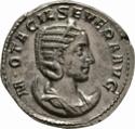 Antoniniano de Otacilia Severa. CONCORDIA AVGG. Concordia sentada a izq. Roma _3-5911