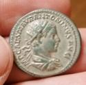 Antoniniano forrado de Heliogábalo. VICTOR ANTONINI AVG. Victoria a dch. Roma Img_2064