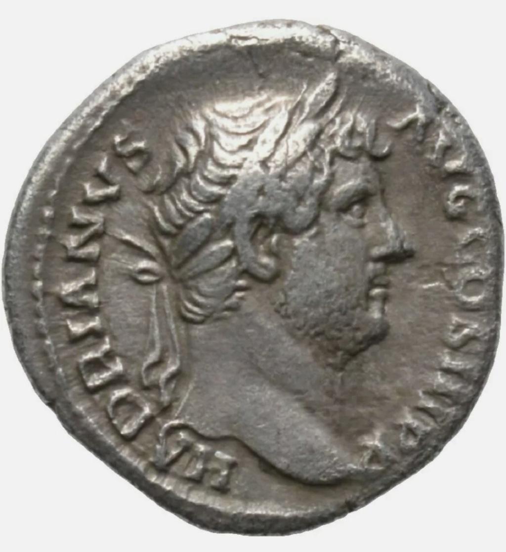 Denario de Adriano. AEGYPTOS. Egipto reclinada a izq. Roma Img_2021