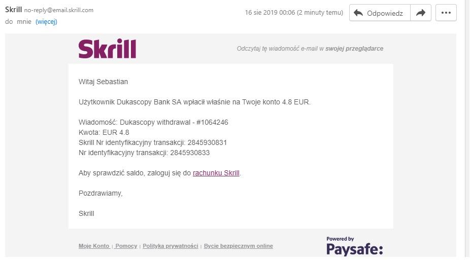 Dukascopy Bank SA 4.88 EUR za weryfikację i otwarcie konta expresowa wypłata na skrill - Page 2 Dukasc10