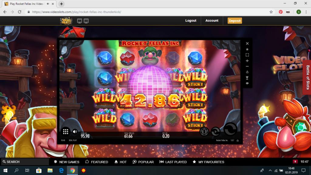 Screenshoty naszych wygranych (minimum 200zł - 50 euro) - kasyno - Page 22 Rocket10