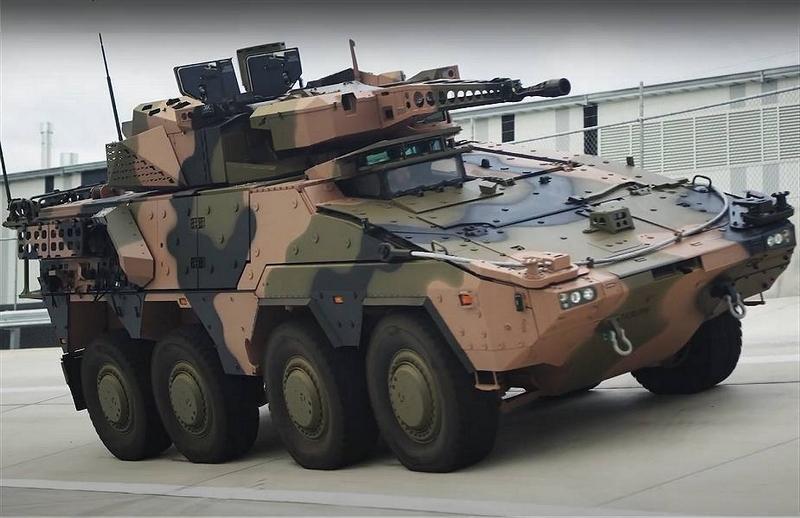 Rheinmetall realiza pruebas de fábrica con el vehículo de reconocimiento de combate Boxer Block 1 Box10