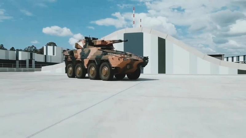 Rheinmetall realiza pruebas de fábrica con el vehículo de reconocimiento de combate Boxer Block 1 Box110