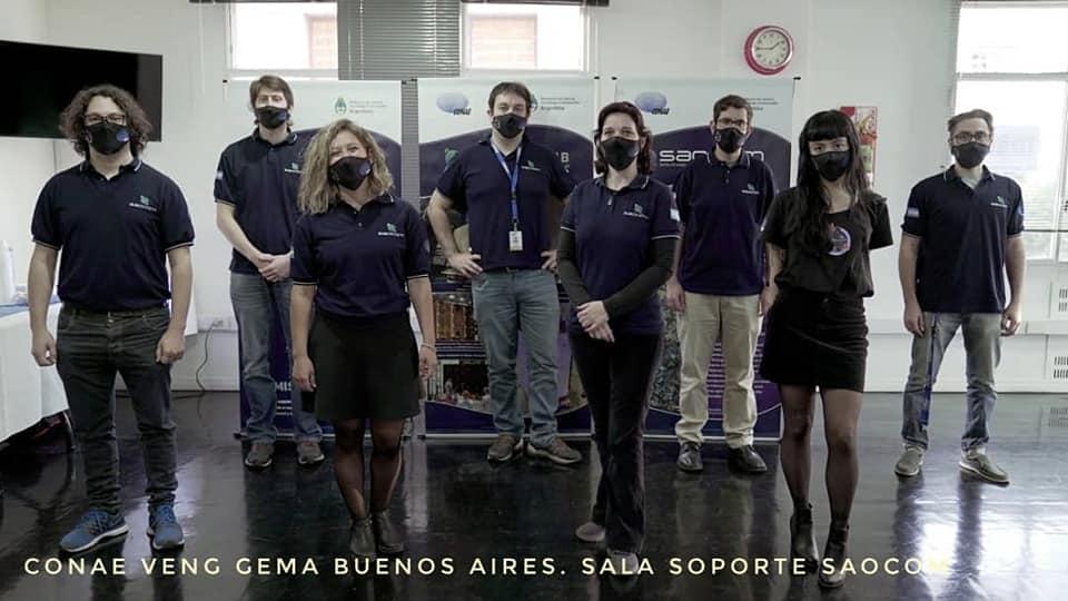 SAOCOM 1A y SAOCOM 1B - Satélites hechos en Argentina - Página 4 Conae210