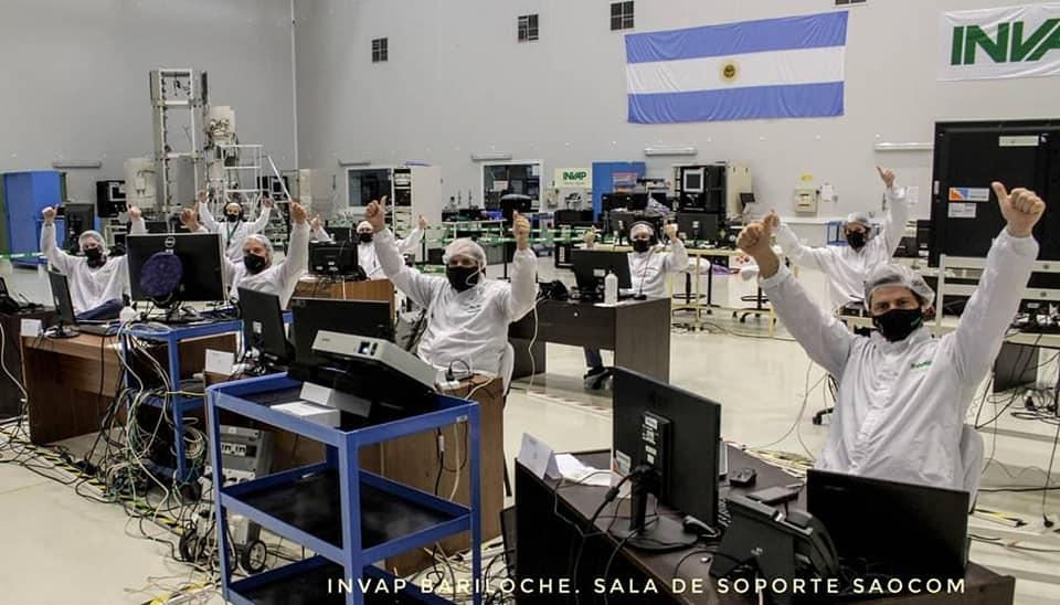 SAOCOM 1A y SAOCOM 1B - Satélites hechos en Argentina - Página 4 Conae310