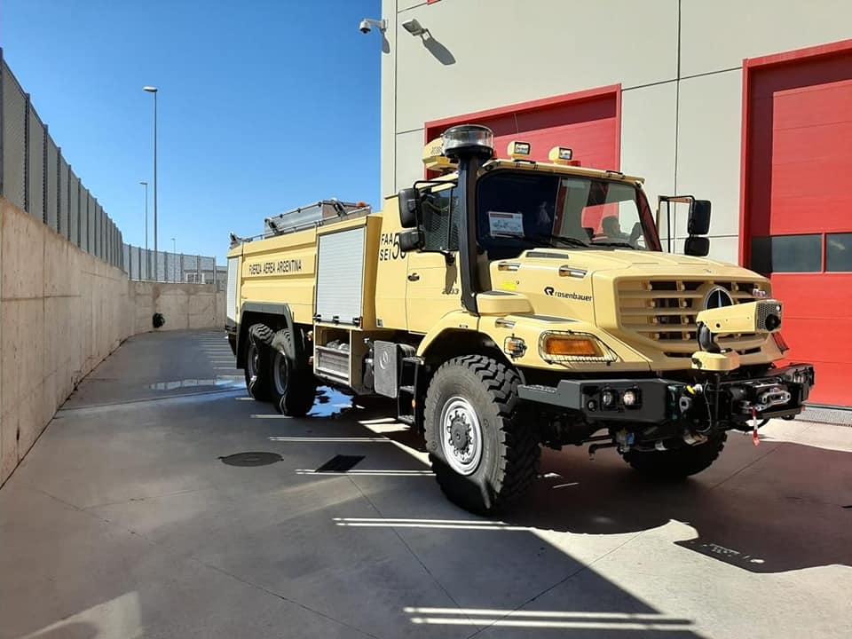 Nuevos camiones hidrantes para el servicio de Contraincendio Faa125