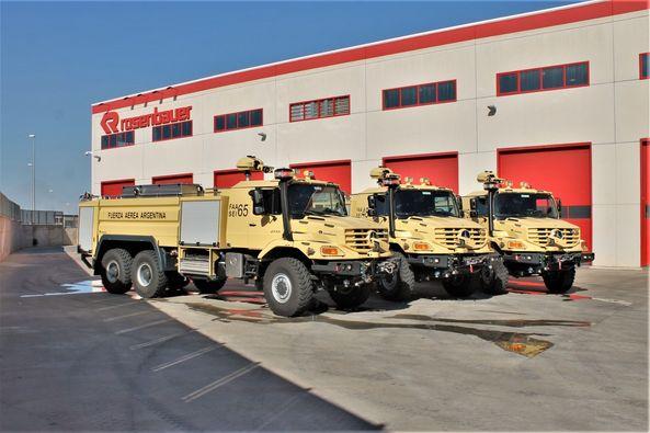 Nuevos camiones hidrantes para el servicio de Contraincendio Faa26