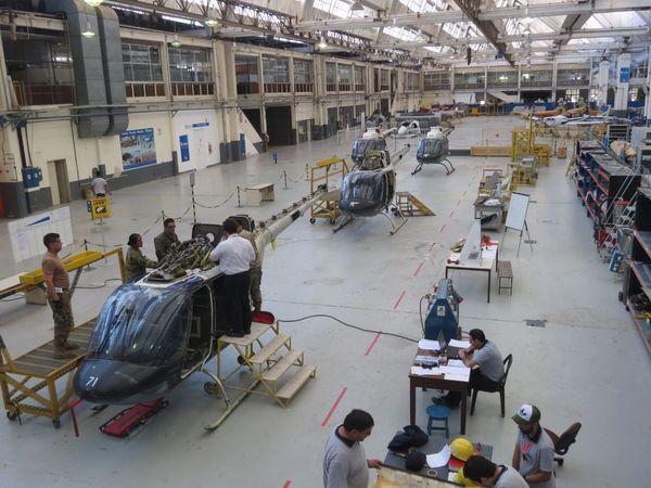 FAdeA: Aprobado el contrato para la inspección y modernización de una nueva tanda de helicópteros Agusta Bell AB-206B-1 Jet Ranger Fadea11