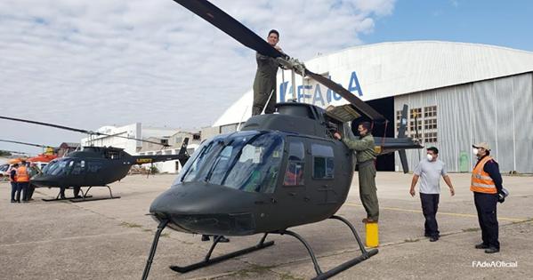 FAdeA: Aprobado el contrato para la inspección y modernización de una nueva tanda de helicópteros Agusta Bell AB-206B-1 Jet Ranger Fadea110